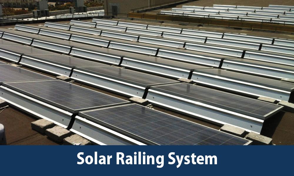 GTech Solar Railing System